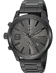 Diesel Mens DZ4453 Rasp Chrono Black Watch