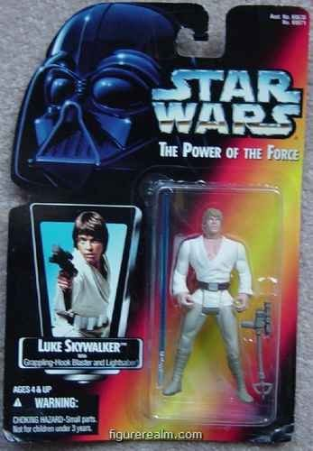 Kenner Luke Skywalker (Star Wars - Power of the Force (1995) Luke Skywalker Red Card Long Saber Action Figure)