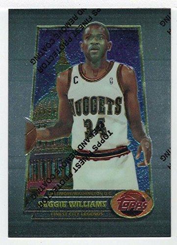 (Reggie Williams (Basketball Card) 1994-95 Topps Finest # 52)