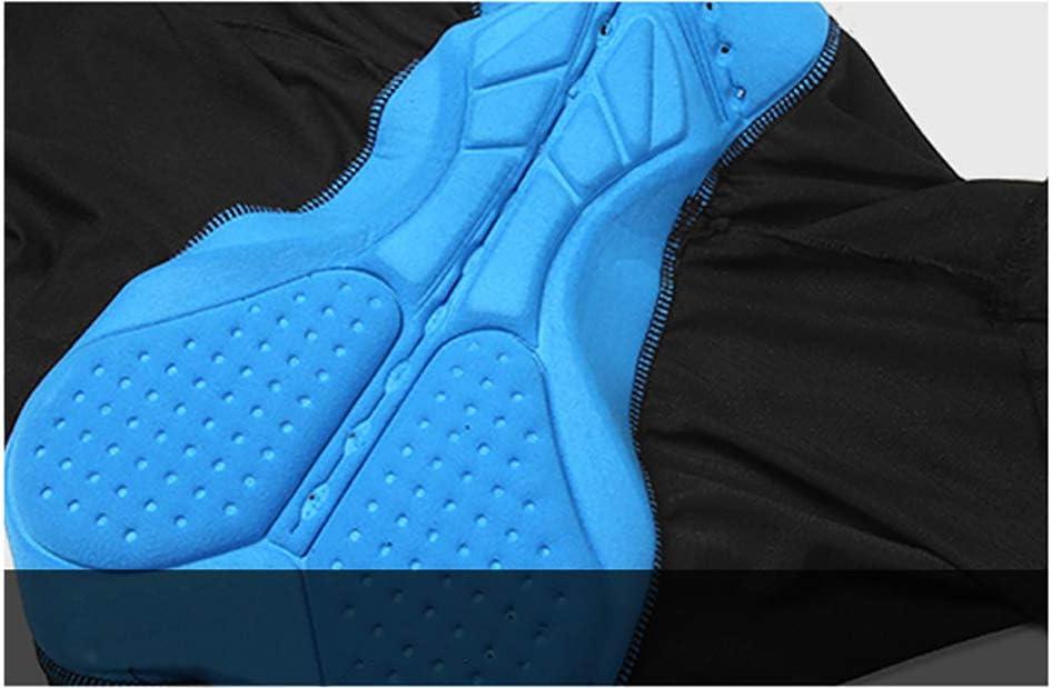 NBWS Pantalones Cortos de Bicicleta Acolchados 4D para Hombres ...
