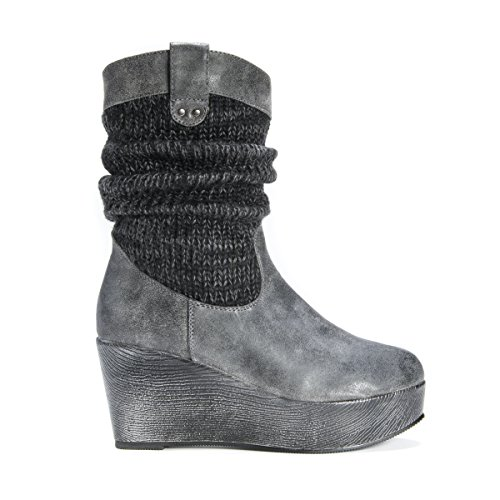 LUKS Charcoal Quinn Women's Boot Winter MUK XqdnHX