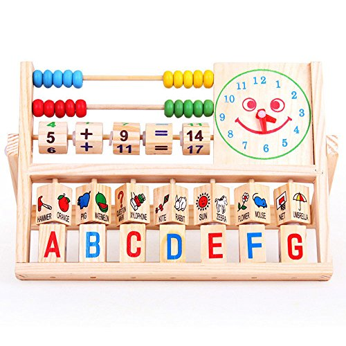 Fragile Costume Christmas Story (Han Shi Toddler Toy Figures & Playsets, Educational Multifunctional Wooden Abacus, Bady Learning Playmate)