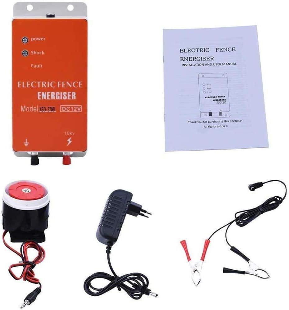 Cerca el/éctrica Controlador de pulso de alto voltaje seguro Granja de animales Cerca el/éctrica Pastor Cr/ía de animales Controlador el/éctrico de esgrima