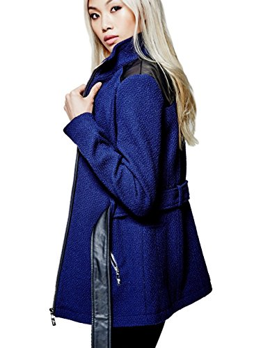 G-by-GUESS-Womens-Cyrene-Boucle-Zip-Up-Coat