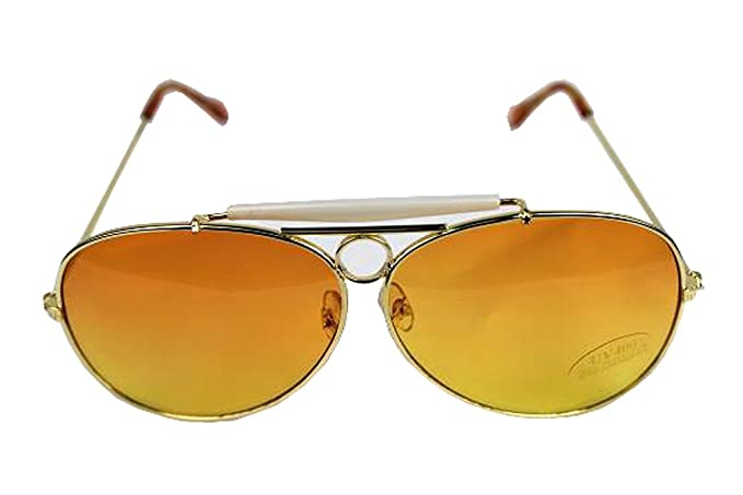 87fa83c4369 Image Unavailable. Image not available for. Color  Las Vegas Fear and  Loathing Orange Lens Sunglasses Glasses Hunter S. Thompson