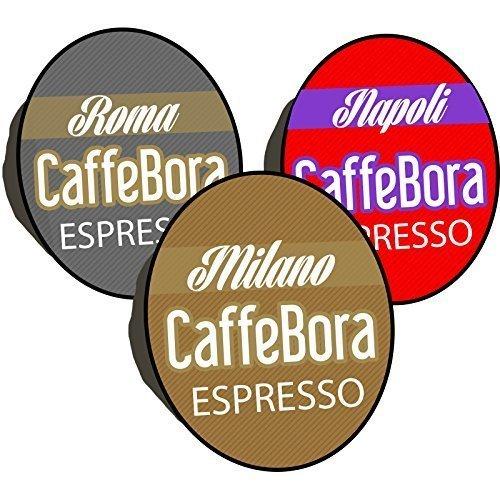 103 opinioni per CaffeBora 100 cialde capsule caffè compatibili lavazza a modo mio tre gusti