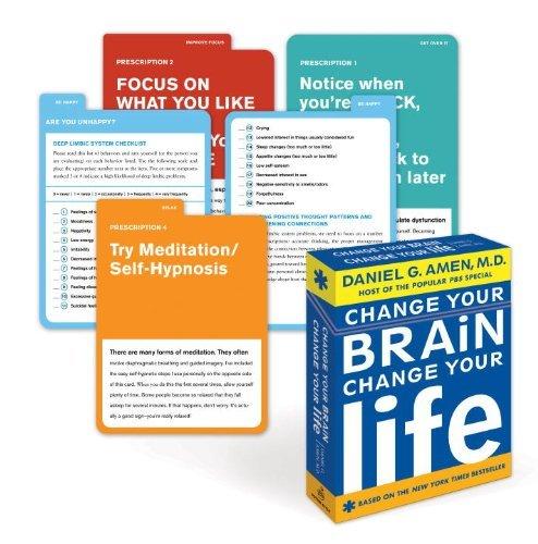 Download By Daniel G. Amen Change Your Brain, Change Your Life Deck (Crds Rep) PDF