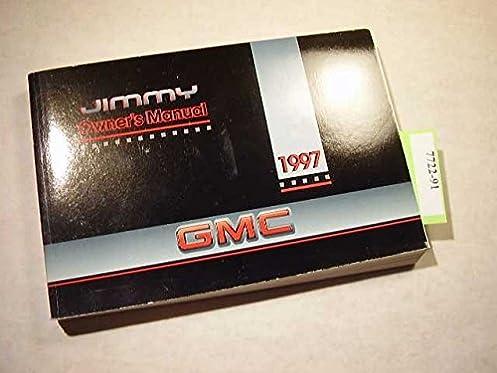 amazon com 1997 gmc jimmy owners manual gmc books rh amazon com Fuel Pressure Regulator Location On 1997 GMC Jimmy 97 GMC Jimmy 4x4