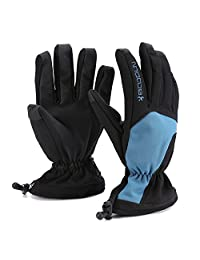 Huntvp Ski Gloves Waterproof Thermal Winter Snowboard Snowmobile Motorcycle Cycling Outdoor Sports Gloves