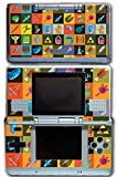 Legend of Zelda Link Retro Items Triforce Boss Key Rupee Boomerang Video Game Vinyl Decal Skin Sticker Cover for Original Nintendo DS System by Vinyl Skin Designs