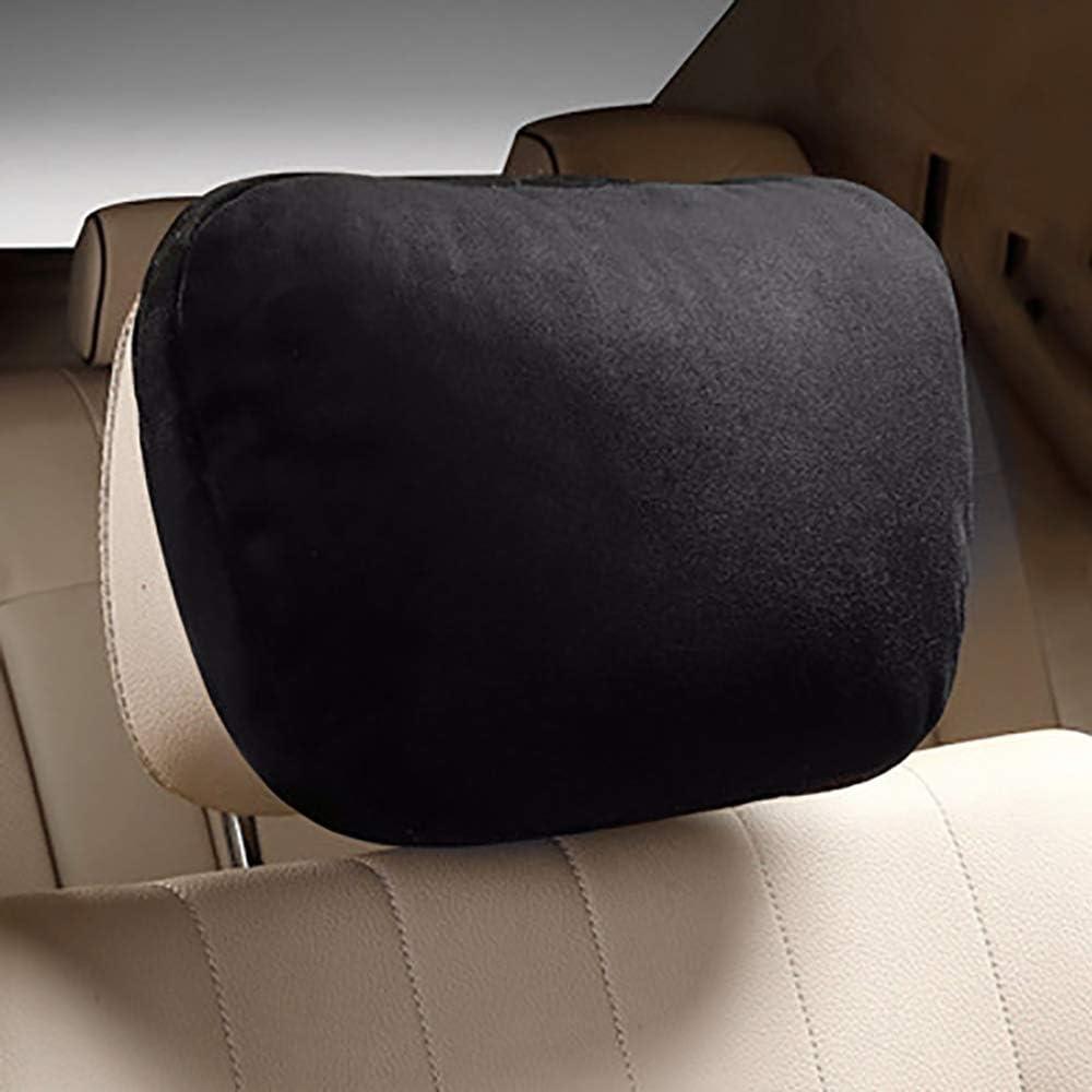 Lecimo pour Mercedes Benz Suede Design S Classe Voiture Appui-t/ête Cou Oreillers Coussin de Si/ège