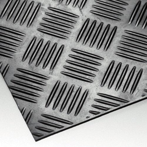 Thomafluid SBR-Industrieplatte - Shore 70°, Stärke: 3 mm, Abmessung: 700 x 700 mm RCT Reichelt Chemietechnik