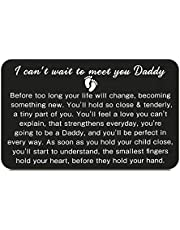 New Dad Wallet Insert Card Daddy to Be Gifts Pregnancy Baby Announcement Gifts for Him New Father Soon to Be Daddy Gifts for Men First Time Dads Gifts from New Mommy Christmas Father's Day