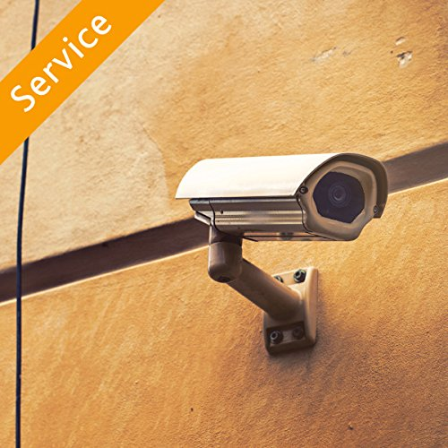 Dummy Surveillance Camera Installation - 4 Cameras