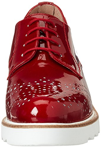 para 001 de Cordones Rojo Zapatos Vitti 206 Love 531 Mujer Rojo Derby x0qwP67Ow