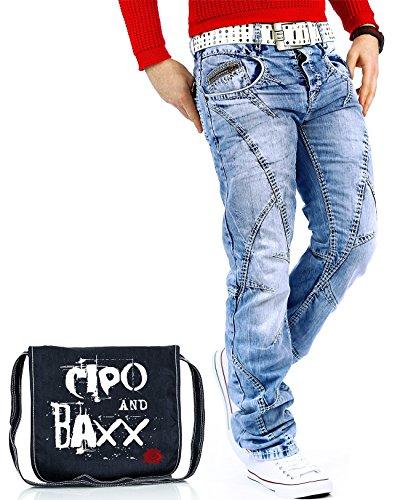 Baxx Uomo amp; Blu Jeans Cipo wx5qgp1q