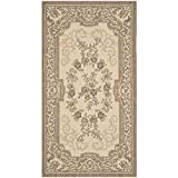 Safavieh Courtyard Collection CY7208-12A5 Cream and Brown Indoor/Outdoor Area Rug (4′ x 5'7″) Review