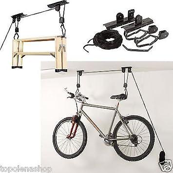 Soporte colgador bicicleta soporte soportes bicicleta techo Garaje ...