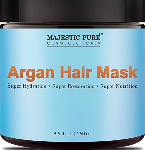 Majestic Pure Argan Oil Hair Mask, Hydrating & Restorative H