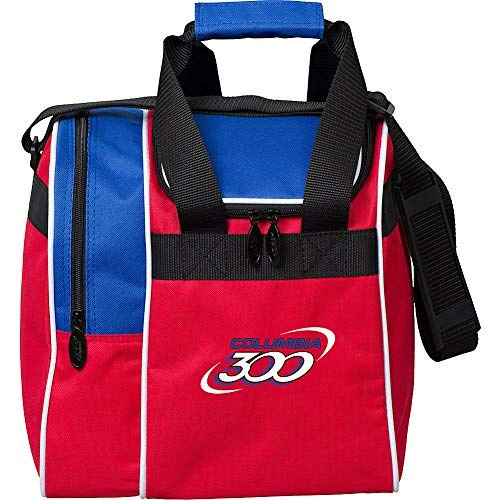 Columbia 300 Bowling Products 300 Team Single Tote-Red/White/Blue, Red/White/Blue by Columbia