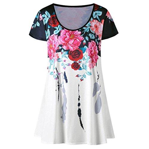 Imprim Courte Paolian Manche Shirt New Sweatshirt T Femmes wg0T4YPg