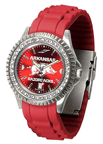 Arkansas Razorbacks Ladies Sport Watch - Linkswalker Ladies Arkansas Razorbacks Sparkle Watch