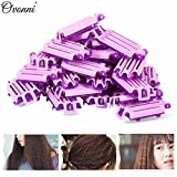 45Pcs Hair Clip ing Styling Wave Perm Rod Corn Curler DIY Tool For Women's Beauty