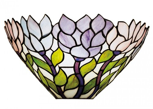 Meyda Tiffany 28496 Wisteria Wall Sconce, 14