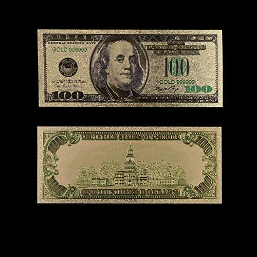 CHENTAOCS 紙幣米ゴールド紙幣USA金箔1ミリオンダラー・ビル注ゴールド紙幣コレクションホームデコレーション 使いやすい (色 : Style 8)