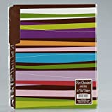 Carolina Pad Hot Chocolate File Folders Pixie Sticks Design, 0.25 x 11.37x 9.5 Inches 12-Count(15025)