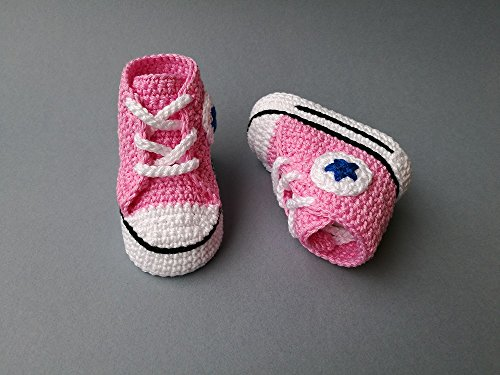 Amazon Crochet Pattern Baby Converse All Star Baby Sneakers