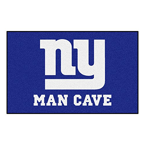 FANMATS 14342 NFL New York Giants Nylon Universal Man Cave UltiMat Rug