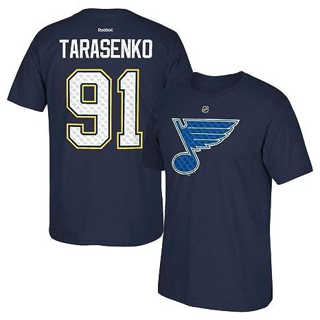 brand new 7ceea e0ce4 Vladimir Tarasenko Reebok St. Louis Blues Tri-Matrix Jersey Navy T-Shirt  Men's