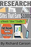 img - for Sites That Earn Over $1000 a Month: How They Get Web Traffic (Web Traffic Series) book / textbook / text book