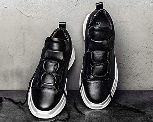 Printemps Shoes Black Hiver Automne Cuir B Bas Comfort Sports Sneakers Hemei Sport Men's Top Casual Blanc Chaussures 43 De qESwIZA