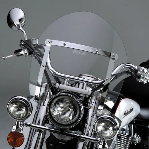 National Cycle N21707 Switchblade Shorty Clear Windshield for Honda NRX1800/VTX ()