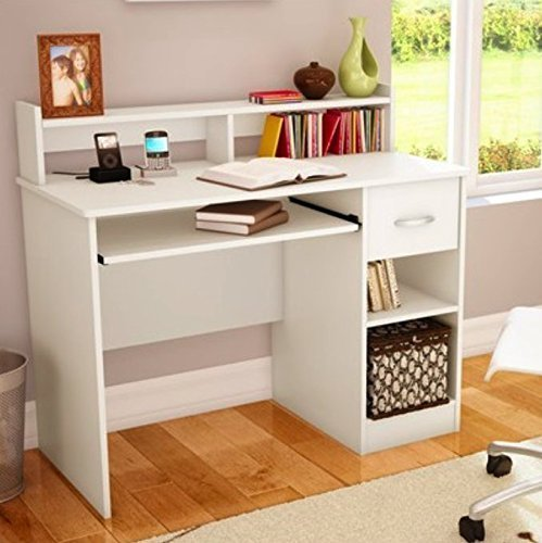 South Shore Study Table Desk Furniture, White