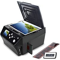 DIGITNOW Film&Slide Pictures Multi-function Combo Scanner, Convert 35mm, 126, 110 Film Negatives & Slides Photos to HD 22MP Digital JPG Files,Includes Free 8GB Memory Card!