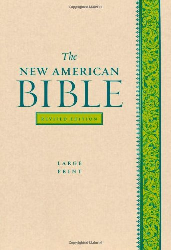 The New American Bible Revised Edition, Large Print Edition
