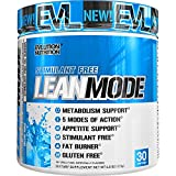 Cheap Evlution Nutrition Lean Mode Stimulant-Free Weight Loss Supplement with Garcinia Cambogia, CLA and Green Tea Leaf Extract, 30 Serving (Blue Raz)