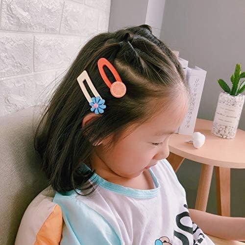 2X Cute Girl Baby Fruit Hairpin BB Clip Snap Headdress Hairpin Barrette