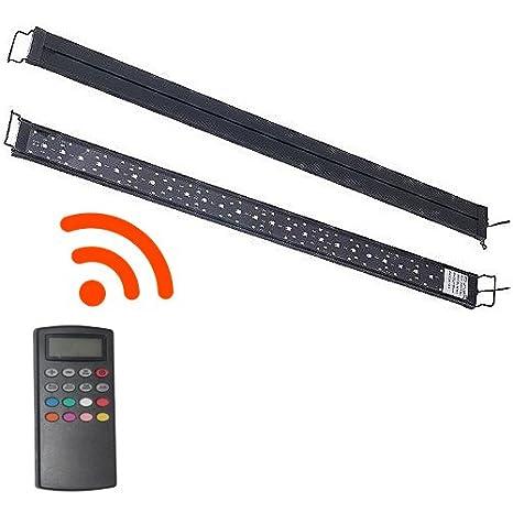 LED Acuario iluminación PowerLED 46 - 60 cm iluminación Sistema 3 canales Luz Acuario Peces Plantas ab8r: Amazon.es: Productos para mascotas