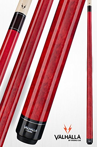 - Viking Valhalla 2 Piece Pool Cue Stick VA104 (19oz, Red)