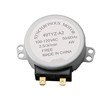 BQLZR RMOTDA252WRZZ - Motor giratorio para microondas (120 V, 3 ...