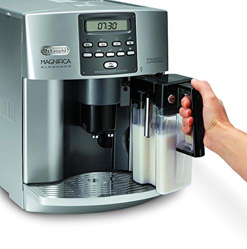 DeLonghi Magnifica ESAM 3600 Independiente Totalmente automática Máquina espresso 1.8L 14tazas Acero inoxidable - Cafetera (Independiente, Máquina espresso, ...