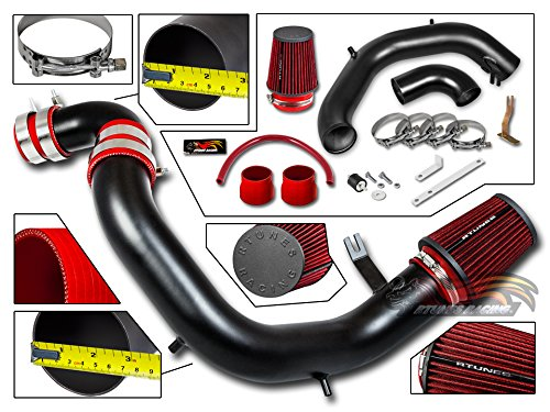 R&L Racing 03-05 For Neon SRT4 2.4L Turbo Matte Black Cold Air Intake System + Filter