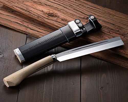 HONMAMON ''AZUMASYUSAKU'' Hatchet 210mm (abt 8.3 Inch) for Left Hander, Blade Edge : Aogami Steel
