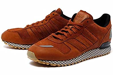 la moitié a773d 1c7d7 Adidas Originals ZX 700 M Marron Q23451: Amazon.co.uk ...