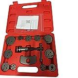 13 Pcs Universal Disc Brake Caliper Wind Back Tool Kit for Disk Brake Pad Replacement
