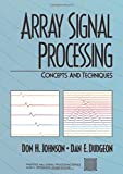 Book cover image for Array Signal Processing: Concepts and Techniques